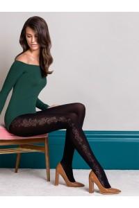 Gabriella Brenda kuvioidut mikrokuitu sukkahousut