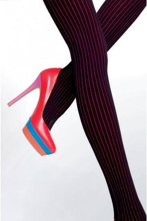Fiore Xara 120 den puuvillaiset sukkahousut, kuviointi