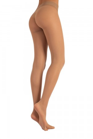 Calzitaly 15 den saumattomat sukkahousut