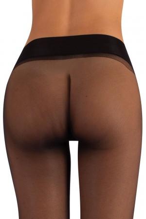 Calzitaly 15 den saumattomat sukkahousut, värin nero housuosa