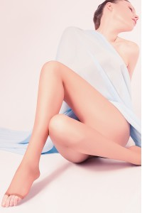 Giulia Toe 15 den sandaalisukkahousut