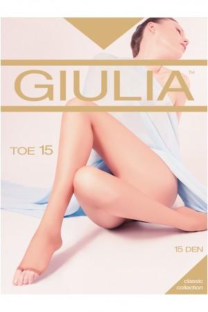 Giulia Toe 15 den sandaalisukkahousut, paketti
