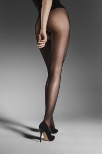 Fiore Ouvert kiiltävät 20 den avonaiset sukkahousut