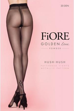 Fiore Hush-Hush 20 den kuvioidut sukkahousut, paketti