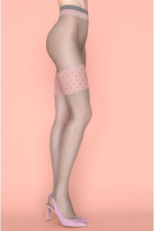 Fiore Lolita 20 den kuvioidut sukkahousut