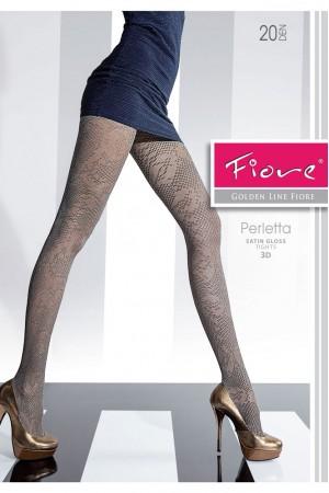 Fiore Perletta 20 den kuvioidut sukkahousut, paketti
