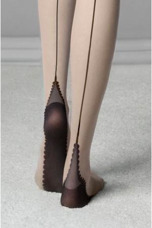 Fiore Sin 20 den sukkahousut, nilkka ja jalkapohja