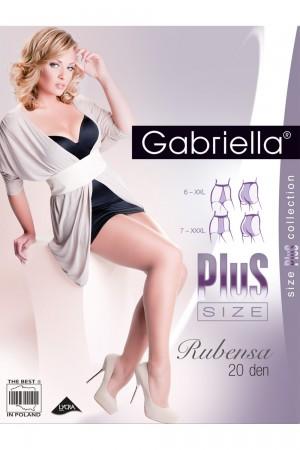 Gabriella Rubensa 20 den PLUS-koon sukkahousut, paketti