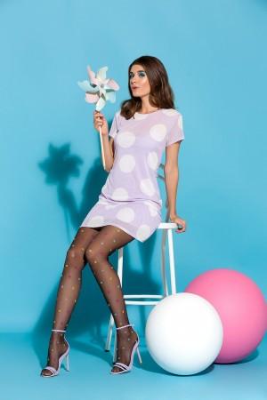 Gabriella Joy kuvioidut sukkahousut, väri nero