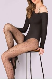Gabriella Selena 20 den kuvioidut sukkahousut