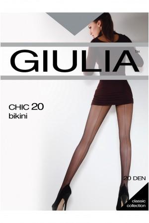 Giulia Chic Bikini 20 den saumasukkahousut, paketti