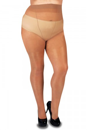 Glamory Supersize 20 den sukkahousut, meikki