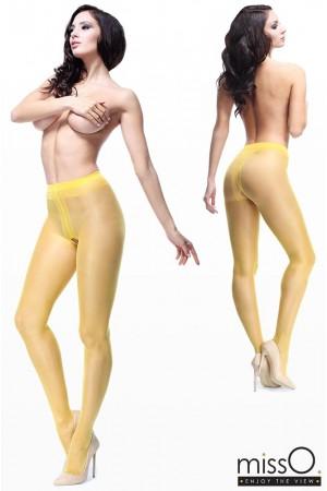 missO 20 den avonaiset sukkahousut, vaalea keltainen