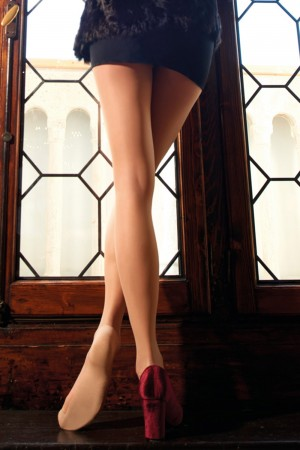 Trasparenze Cassandra 20 den puuvillapohjaiset sukkahousut
