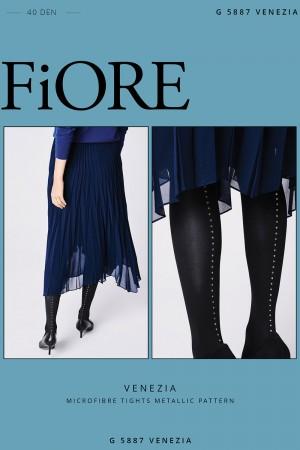 Fiore Venezia 40 den sukkahousut koristeellisella saumalla, paketti