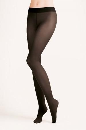 Gabriella 40 den hipster sukkahousut, väri musta (nero)