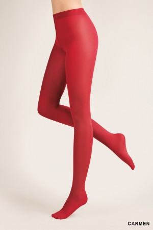 Gabriella 40 den mikrokuitu sukkahousut, väri carmen