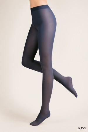 Gabriella 40 den mikrokuitu sukkahousut, väri navy