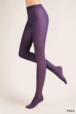 Gabriella 40 den mikrokuitu sukkahousut, väri viola