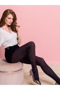 Gabriella Zoya lurex pystyraita sukkahousut