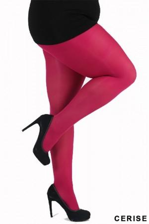 Pamela Mann 50 den Plus-koon sukkahousut, cerise