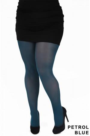 Pamela Mann 50 den Plus-koon sukkahousut, petrol blue