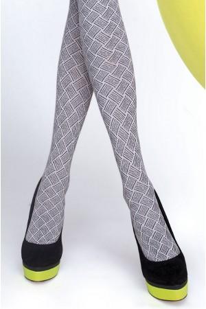 Fiore Lucinda 60 den kuvioidut sukkahousut, kuviointi