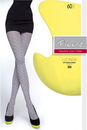 Fiore Lucinda 60 den kuvioidut sukkahousut, paketti