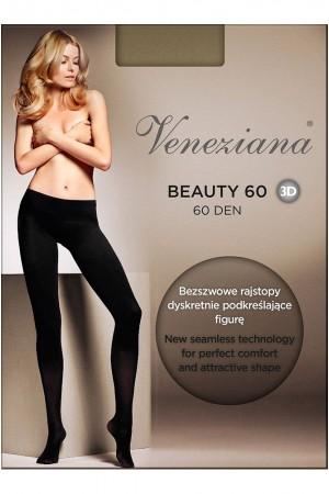Veneziana Beauty 60 den saumattomat sukkahousut, paketti