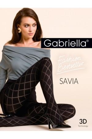 Gabriella Savia kuvioidut mikrokuitu sukkahousut, paketti
