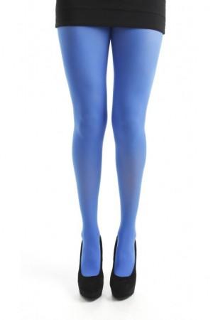 Pamela Mann 80 den värikkäät sukkahousut, Flo blue