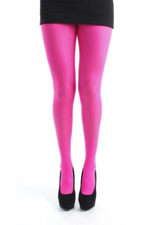 Pamela Mann 80 den värikkäät sukkahousut, Flo pink