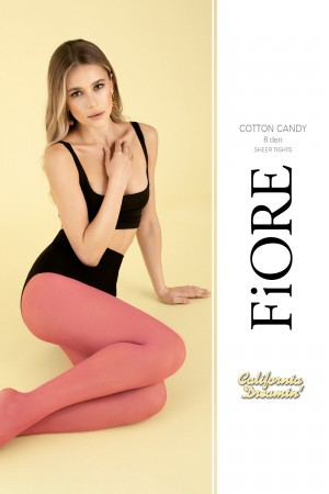 Fiore Cotton Candy 8 den sukkahousut, paketti