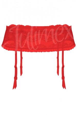 Julimex Lilly sukkanauhavyö, punainen