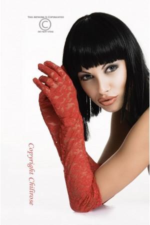 Chilirose pitsikäsineet, punainen