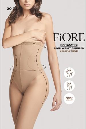 Fiore High Waist Bikini 20 den muotoilevat sukkahousut, paketti