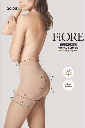 Fiore Total Slim 20 den muotoilevat sukkahousut, paketti