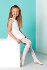 Gabriella Lila lasten kuvioidut sukkahousut
