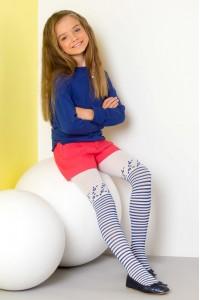 Gabriella Sisi lasten kuvioidut sukkahousut