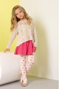 Gabriella Zuza lasten kuvioidut sukkahousut