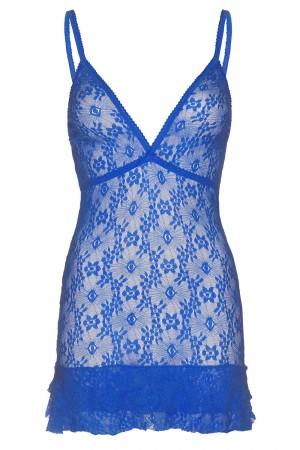 Leg Avenue pitsimekko (chemise), royal blue