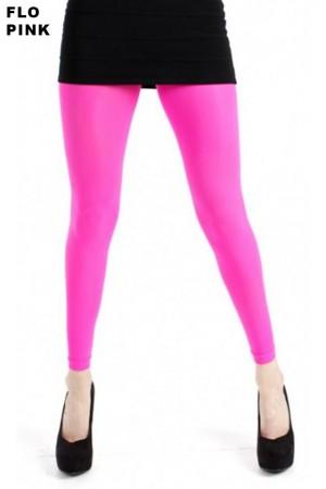 Pamela Mann 50 den leggingsit, flo pink