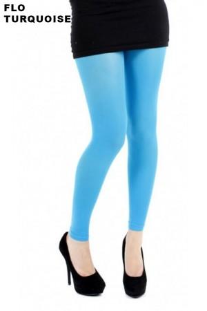 Pamela Mann 50 den leggingsit, flo turquoise