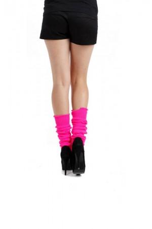 Pamela Mann polvipituiset säärystimet, Flo pink
