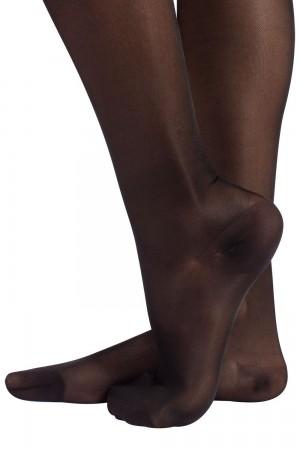 Calzitaly 70 den kompressio stay up-sukat (tukisukat), värin nero jalkaterä