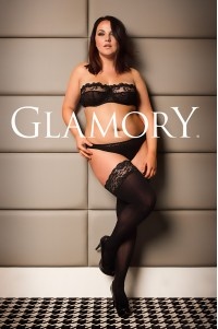 Glamory Micro 60 den mikrokuitu stay up -sukat