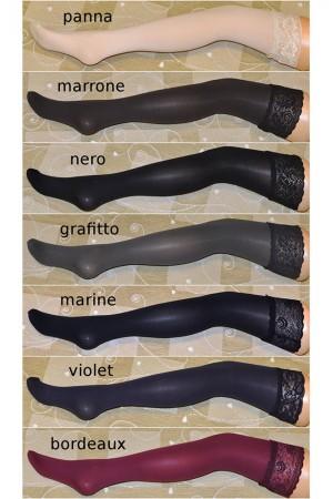 Veneziana Fiona 60 den stay up -sukat, värit