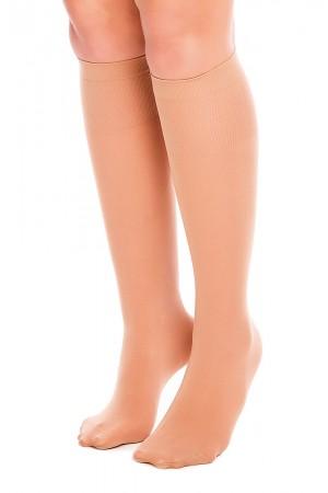 Glamory Fit 50 den mikrokuitu polvisukat, meikki