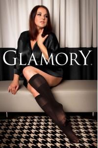 Glamory Fit 50 den mikrokuitu polvisukat