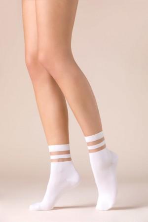 Gabriella Cami nilkkasukat, väri valkoinen
